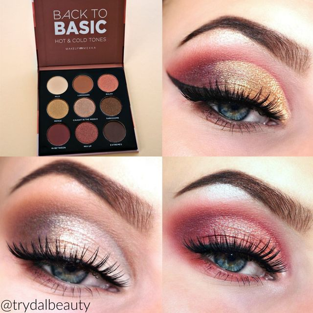 Back to Basic Eyeshadow Palette Hot & Cold Tones